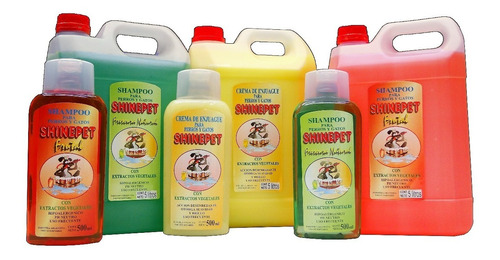 shampoo shinepet frutal bidon 5 litros premium perros gatos