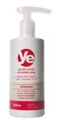 shampoo silver yellow by alfaparf desamarillador y canas