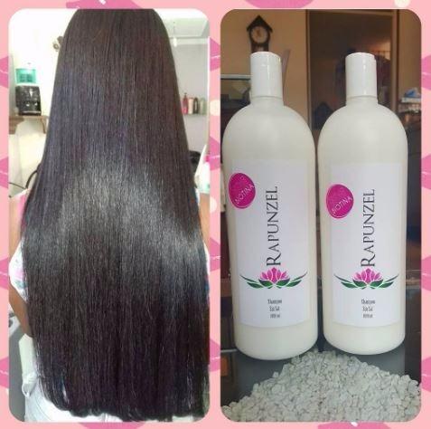 Biotina cabello rapunzel