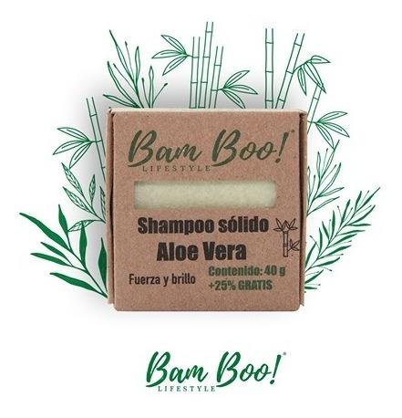 shampoo solido aloe vera bam boo! lifestyle®