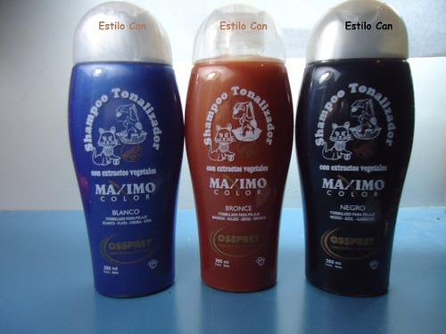 shampoo tonalizador osspret 260cm3 el mejor del mercado!