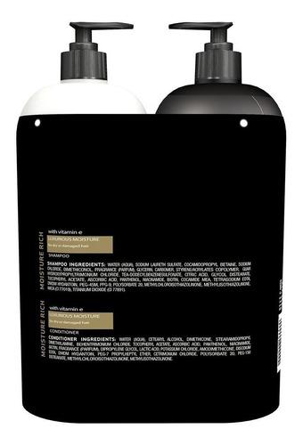 shampoo tresemme y acondicionador luxurious 7x profesional