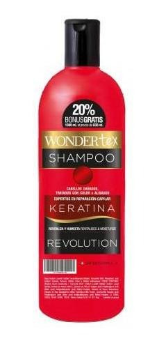 shampoo wonder tex keratina revolution 450 cc