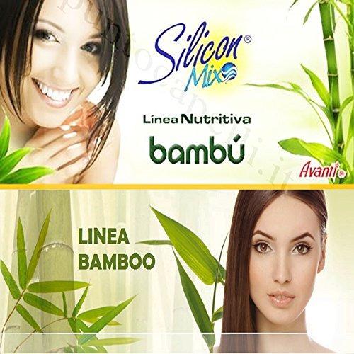 shampoo y acondicionador silicon mix bambu