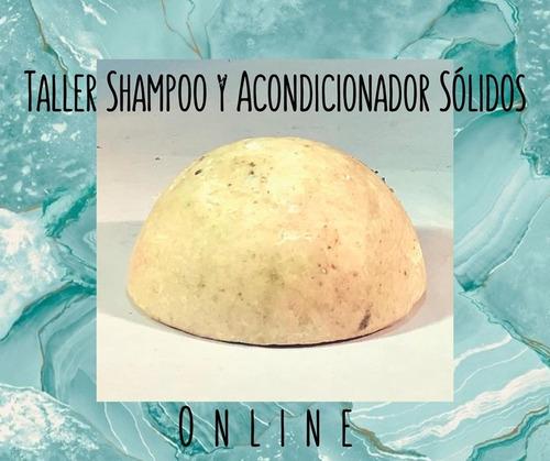 shampoo y acondicionador sólidos, curso online