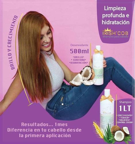 shampoo y desenredante irish cob