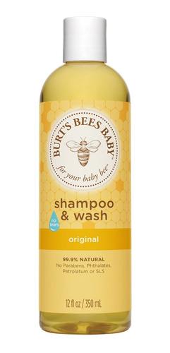 shampoo y jabón líquido burt's bees baby original 235ml