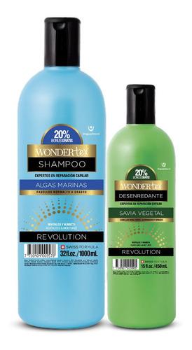 shampoo y savia wonder tex algas marinas