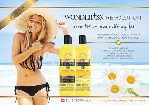 shampoo y savia wonder tex manzanilla