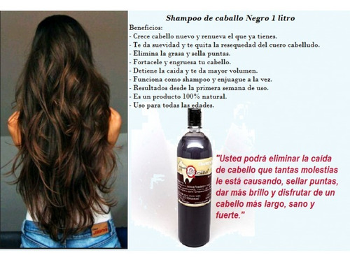 shampoo yeguada, colágeno, yegualah.