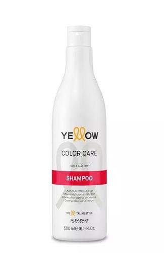 shampoo yellow alfaparf color care gojiberry aloetrix 500ml
