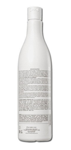 shampoo yellow repair amêndoa e manteiga de cacau 500ml