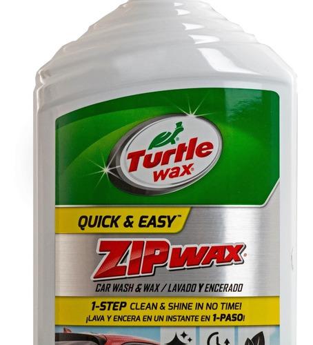 shampoo zip wax turtle wax lavado y encerado usa made 473 ml