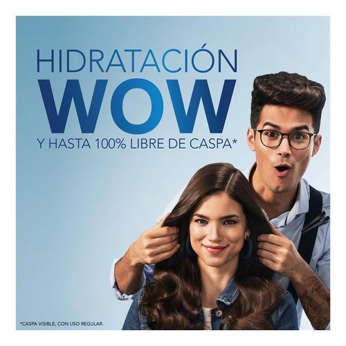 shampoohead & shoulders humectacion 375 ml