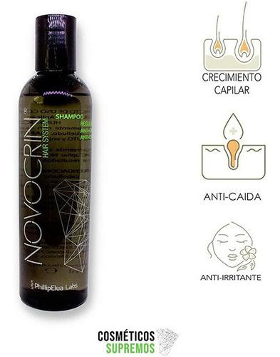 shampoos dermatologicos para caida cabello novocrin