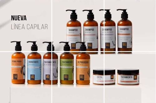 shampoos linea capilar madre tierra