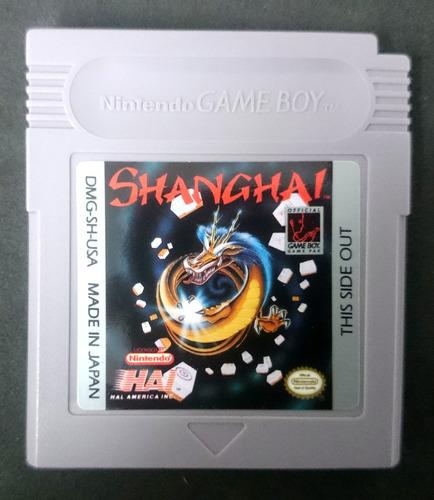 shanghai gameboy gb en excelente estado para game boy
