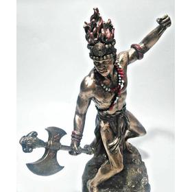 Shango O Chango Orisha En Figura De Resina