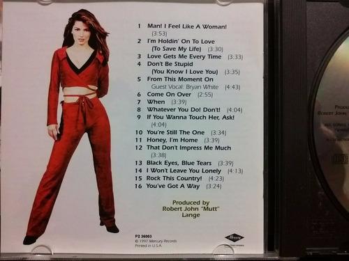 shania twain come on over cd seminuevo 1ra edición 1997 usa