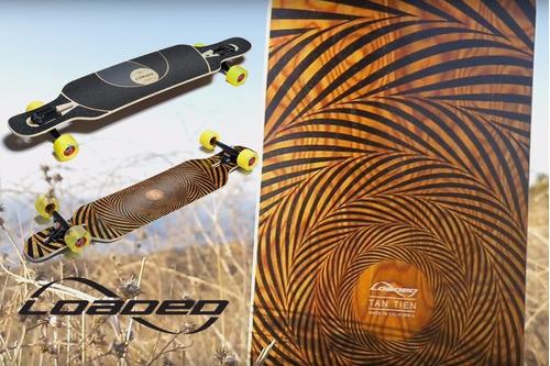 shape longboard loaded boards tan tien flex 1 bambu