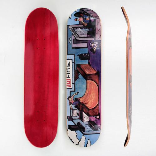 shape make fiberglass model pista de skate - 7.87''