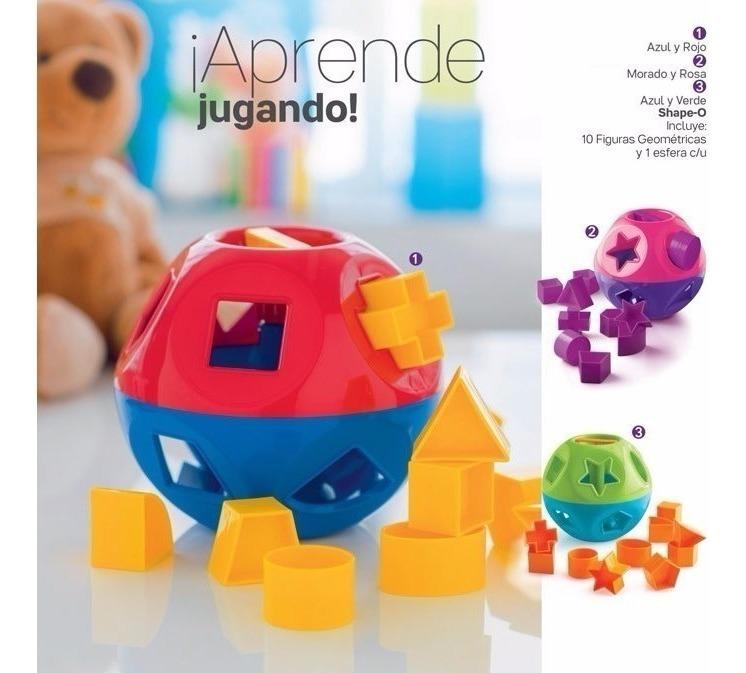 O Tupperware Shape Pelota Juguete Figuras Niños Geométricas ChrtxBsQdo