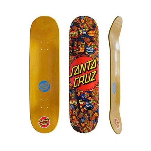 shape para skate santa cruz powerlyte logo mash up 8,3