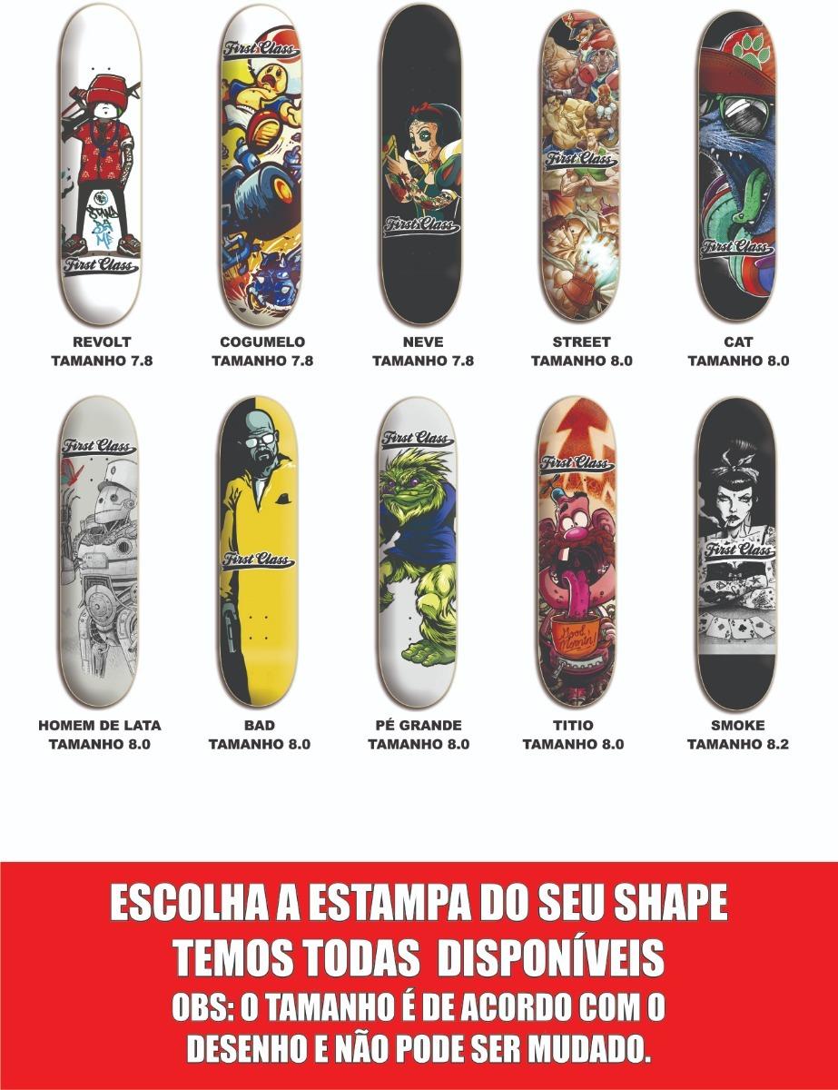 67bba1cdd1a01 Shape Profissional De Skate Direto Da Fabrica Barato - R  79