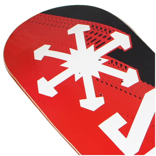 shape snoway logo verm/preto 20,3x79,8cm