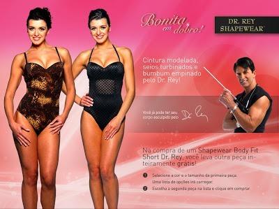 509baa4038 Shapewear Body Fit Short Dr. Rey Modela Seu Corpo (p 38)