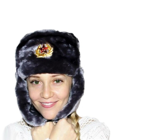 shapka gorro ruso ushanka original. envio gratis