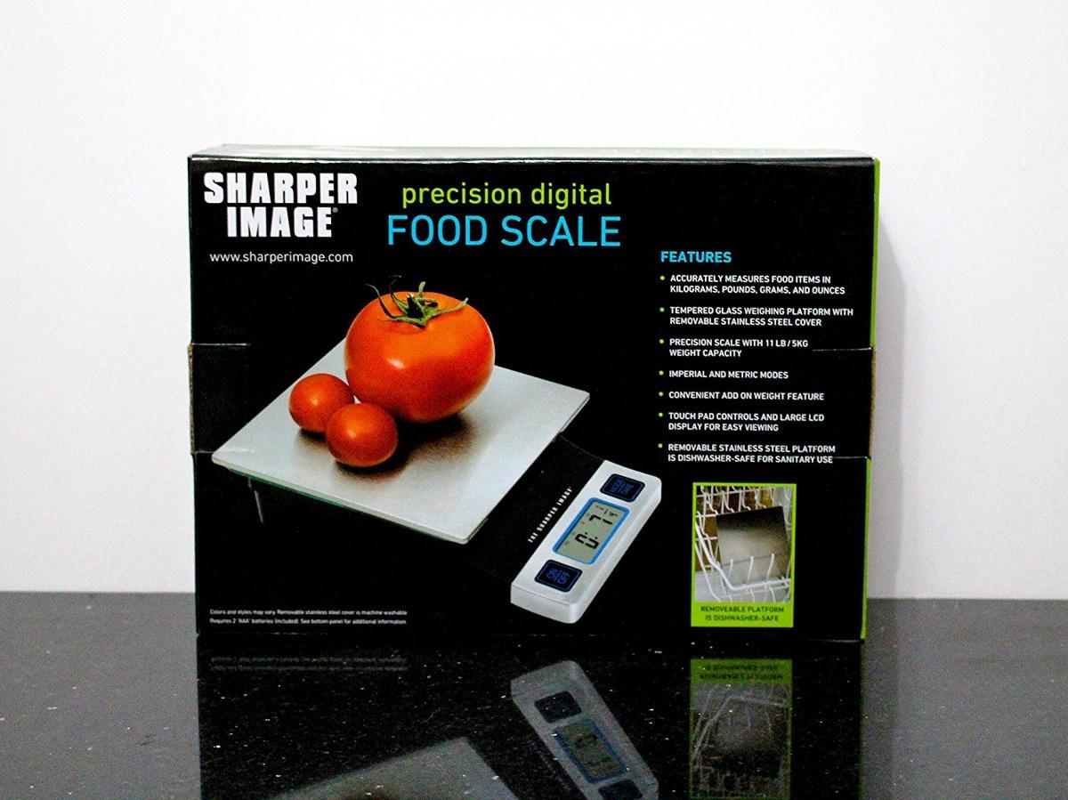 Sharper Image Precision Digital Food Scale 123531 En Mercado Libre