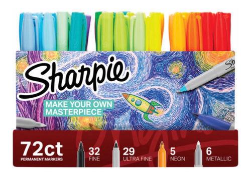 sharpies marcadores originales 72 unidades bz0