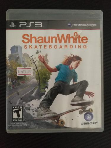 shaun white skateboarding ps3 gamezone mercadopago
