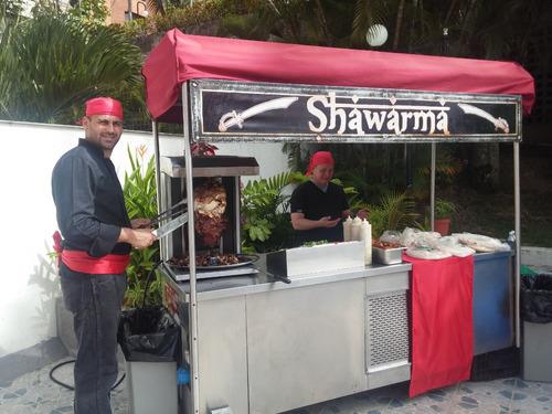 shawarma eventos,hamburguesas,perros calientes,arepas cachap