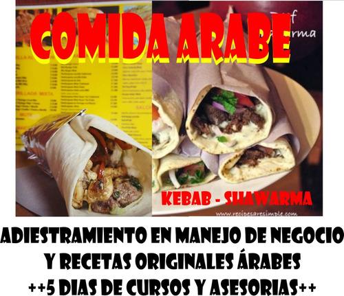 shawarma, kebab, modelo de negocio cursos, asesoria maquinas