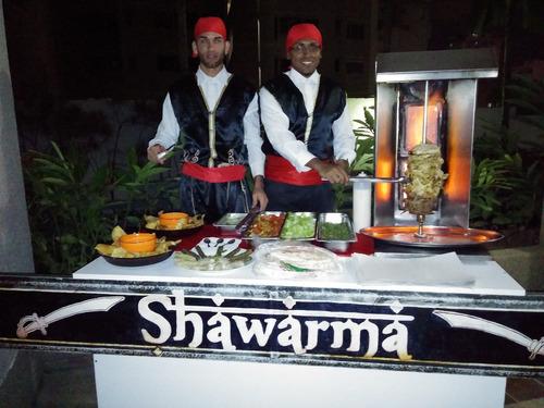 shawarma pasapalos árabes catering agencia de festejos