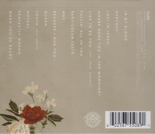 shawn mendes - disco cd - nuevo - original (16 canciones)