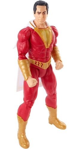 shazam true moves mattel dc comics 30cm ref. gcw29