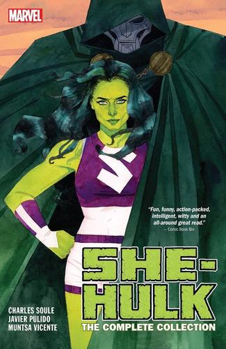 she-hulk by soule & pulido tpb - marvel comics - robot negro
