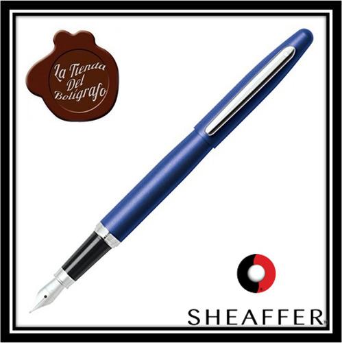 sheaffer estilografo vfm azul
