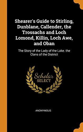 shearers guide to stirling, dunblane, callender, the trossa