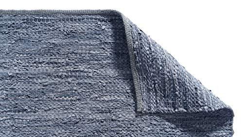 sheen décor meridian raga collection alfombra de piel recicl