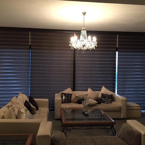 sheer elegance colores oscuros - gratis instalación. $570.00