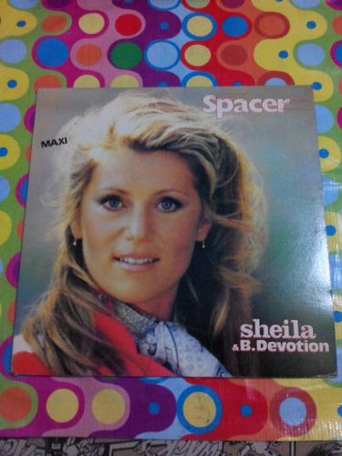 sheila & b. devotion lp  1979 disco en buen estado.