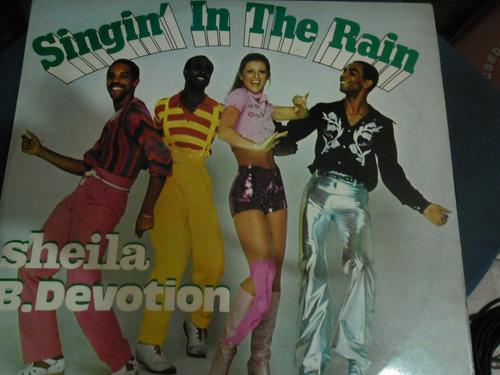 sheila e.devotion -singin' in the rain  lp nacional