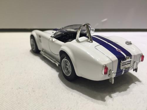 shelby cobra 1965 1/32 427 sc kinsmart