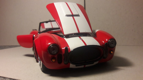 shelby cobra 427 1965 1/24 jada envio gratis