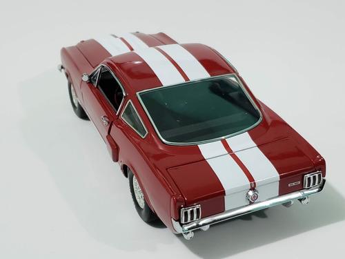 shelby gt350 1966 1:18 rojo, lane exact detail