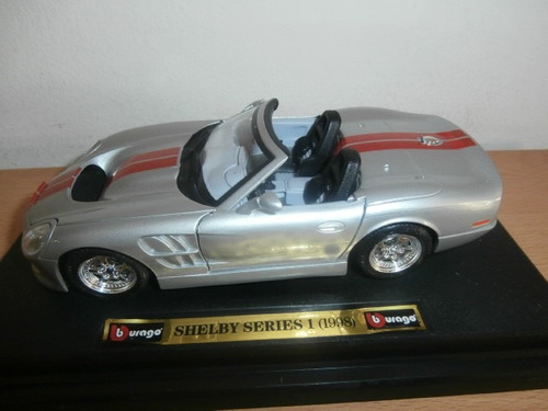 shelby series 1 1999 burago escala: 1:24